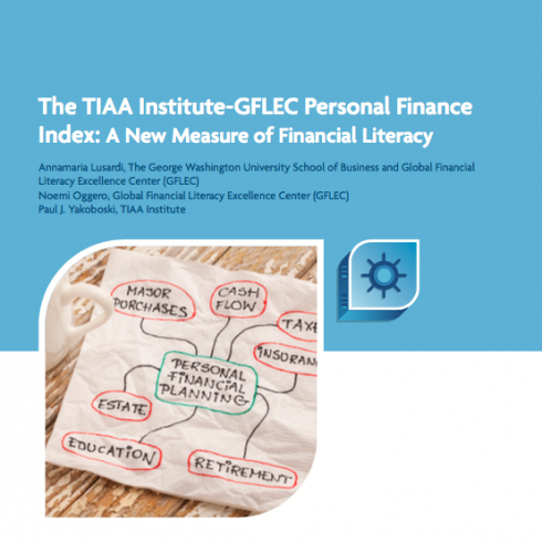 Personal Finance Index Report cover