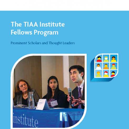 TIAA Institute Fellows Brochure