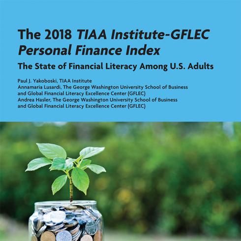 2018 P-Fin Index Report cover