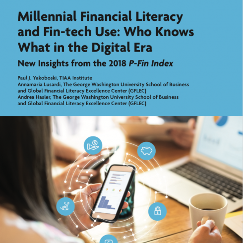 2018 P-Fin Index – Millennials & Fin-Tech cover