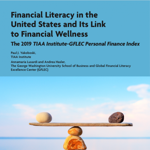 2019 Personal Finance Index Report cover